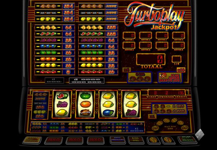 Turbo Player Jackpot Fruits4Reel