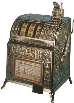 De Liberty Bell was de allereesrte fruitautomaat