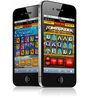 iphone fruitmachines tombraider en mermaid millions