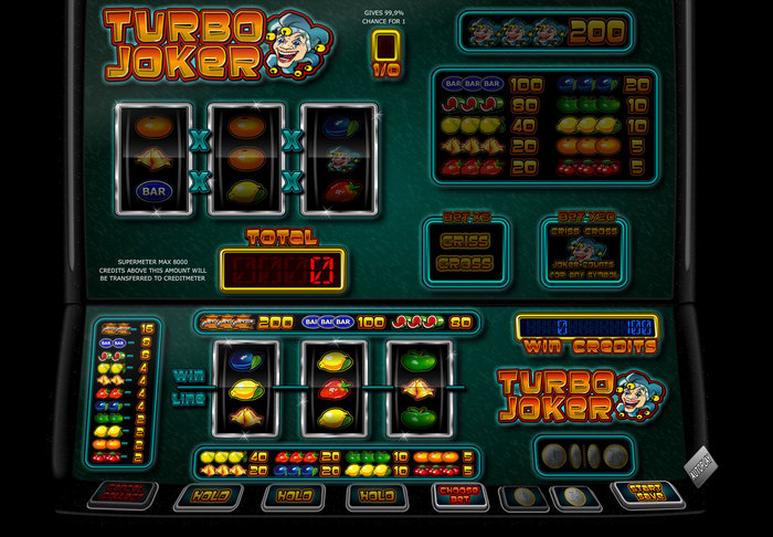 Turbo Joker fruitautomaat